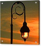Lamp Post Glow Acrylic Print