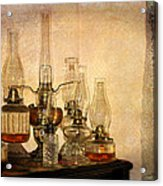 Lamps And Lace Acrylic Print