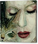 Lana Del Rey And A Friend  Acrylic Print by Paul Lovering