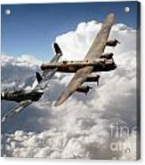 Lancaster And Spitfire  Acrylic Print
