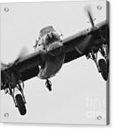 Lancaster Bomber Acrylic Print