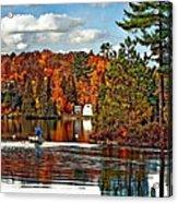 Land Of Lakes Acrylic Print