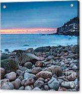 Land Of Sunrise Acrylic Print