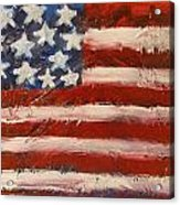 Land Of The Free Acrylic Print by Niceliz Howard