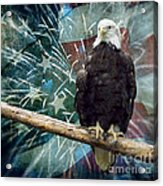Land Of The Free Acrylic Print