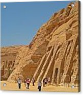 Land Of The Pharaohs Acrylic Print