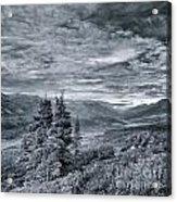 Land Shapes 18 Acrylic Print