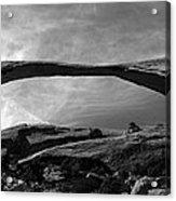 Landscape Arch Panoramic Acrylic Print