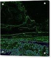 Landcape Glowing Acrylic Print