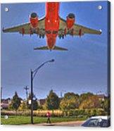 Landing At Midway Acrylic Print