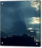 Landing strip lights art print by ed smith landing strip lights acrylic print mozeypictures Gallery