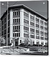 Landmark Life Savers Building II Acrylic Print by Clarence Holmes