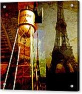 Landmarks  Acrylic Print