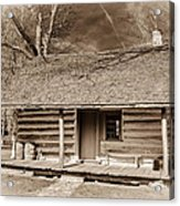 Landow Log Cabin 7d01723b Acrylic Print