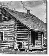 Landow Log Cabin Acrylic Print