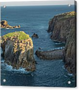 Lands End Cornwall Acrylic Print