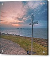 Lands End Cornwall Acrylic Print