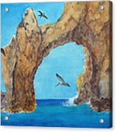 Lands End Acrylic Print