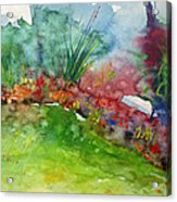 Landscape-1 Acrylic Print by Vladimir Kezerashvili