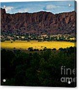 Landscape 22 E Los Alamos Nm Acrylic Print