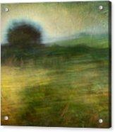 Landscape #24. Paper Dreams Acrylic Print