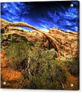 Landscape Arch Acrylic Print