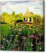 Landscape Artist Acrylic Print by Carol Toepke
