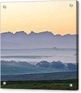 Landscape At Dawn Acrylic Print