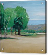 Landscape At Montelimar Acrylic Print