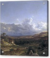 Landscape In Dauphine Acrylic Print
