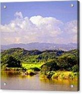 Landscape In Puerto Rico. Acrylic Print