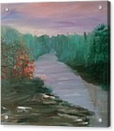 River Dreamscape Acrylic Print