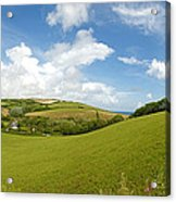 Landscape Near Hallsands In Devon Gb Acrylic Print