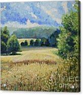 Landscape Near Russian Border Acrylic Print