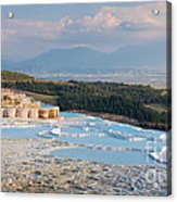 Landscape Of Pamukkale Acrylic Print