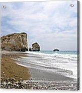 Seascape  Paphos Cyprus Acrylic Print