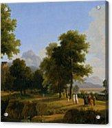Landscape. Site Of Greece Acrylic Print