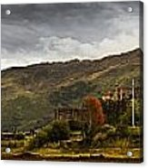 Landscape With A Castle On A Hill And A Acrylic Print