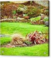 Landscaped Garden Acrylic Print