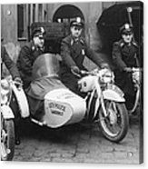Landshut City Police Acrylic Print