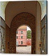 Landskrona Citadel Entrance Acrylic Print