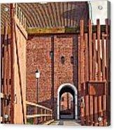 Landskrona Citadel In Sweden Acrylic Print
