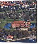 Landskrona Citadel Photographed From The Air Acrylic Print