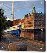 Landskrona Se 202 Acrylic Print
