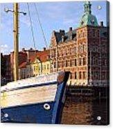 Landskrona Se 204 Acrylic Print