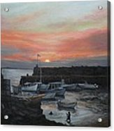 Lanes Cove Sunset Acrylic Print