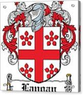 Langan Coat Of Arms Irish Acrylic Print