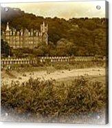 Langland Bay Gower Wales Acrylic Print