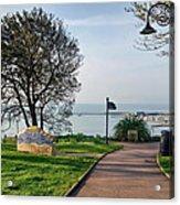 Langmoor-lister Gardens -- Lyme Regis Acrylic Print