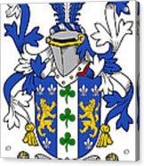 Lanigan Coat Of Arms Irish Acrylic Print